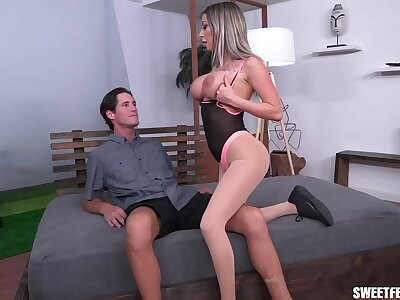 Fit Chick Makes Him Lick His Cum Off Her Titties Certificate Riding His Dick