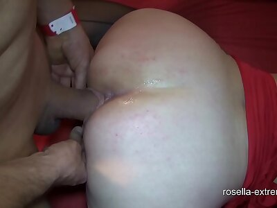 Pioneering bareback cum bunch prosperity less Marina together with Rosella! Part 3