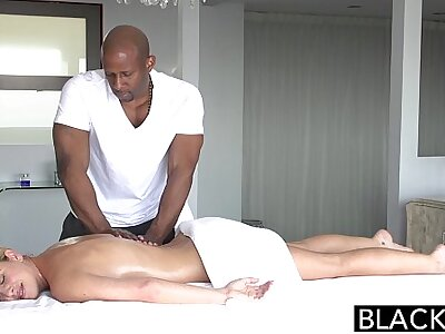 BLACKED Hot Southern Comme �a Takes Big Nefarious Cock